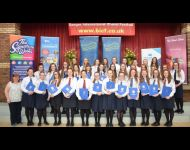 Glenlola Collegiate School, Bangor Winner of Grammar  School Choir 19 years & under