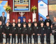 Sacred Heart Primary School Belfast Joint runner up (under 30 singers)